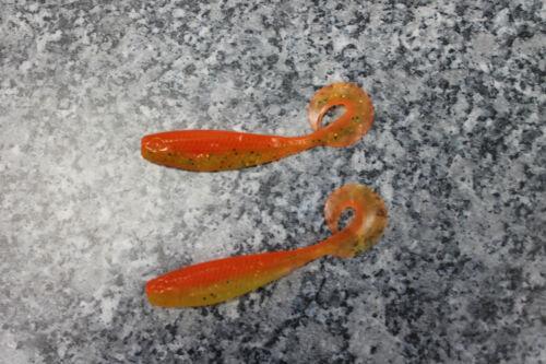 Gunki Clipper 8cm 3g versch Farben je 2 Stück Gummifisch Wobbler Kunstköder