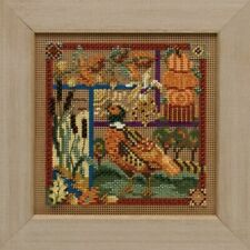 MILL HILL BUTTONS /& BEADS SPRING Series Cross Stitch Kit SEASIDE SAMPLER