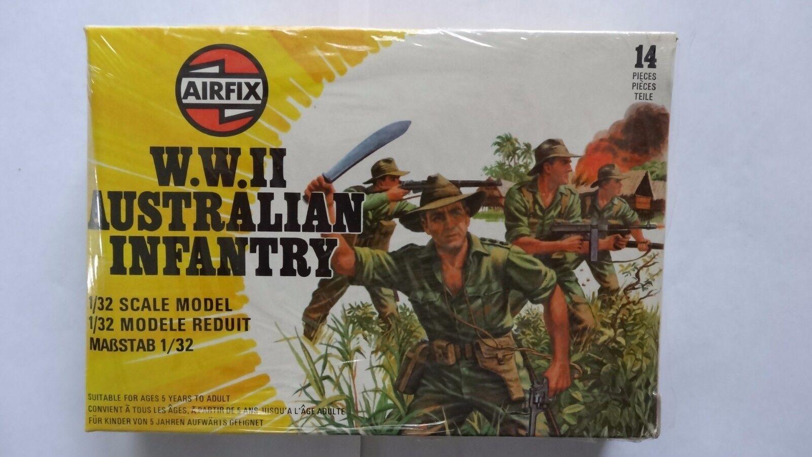 Airfix W.W.11 Australian Infantry 51558-2