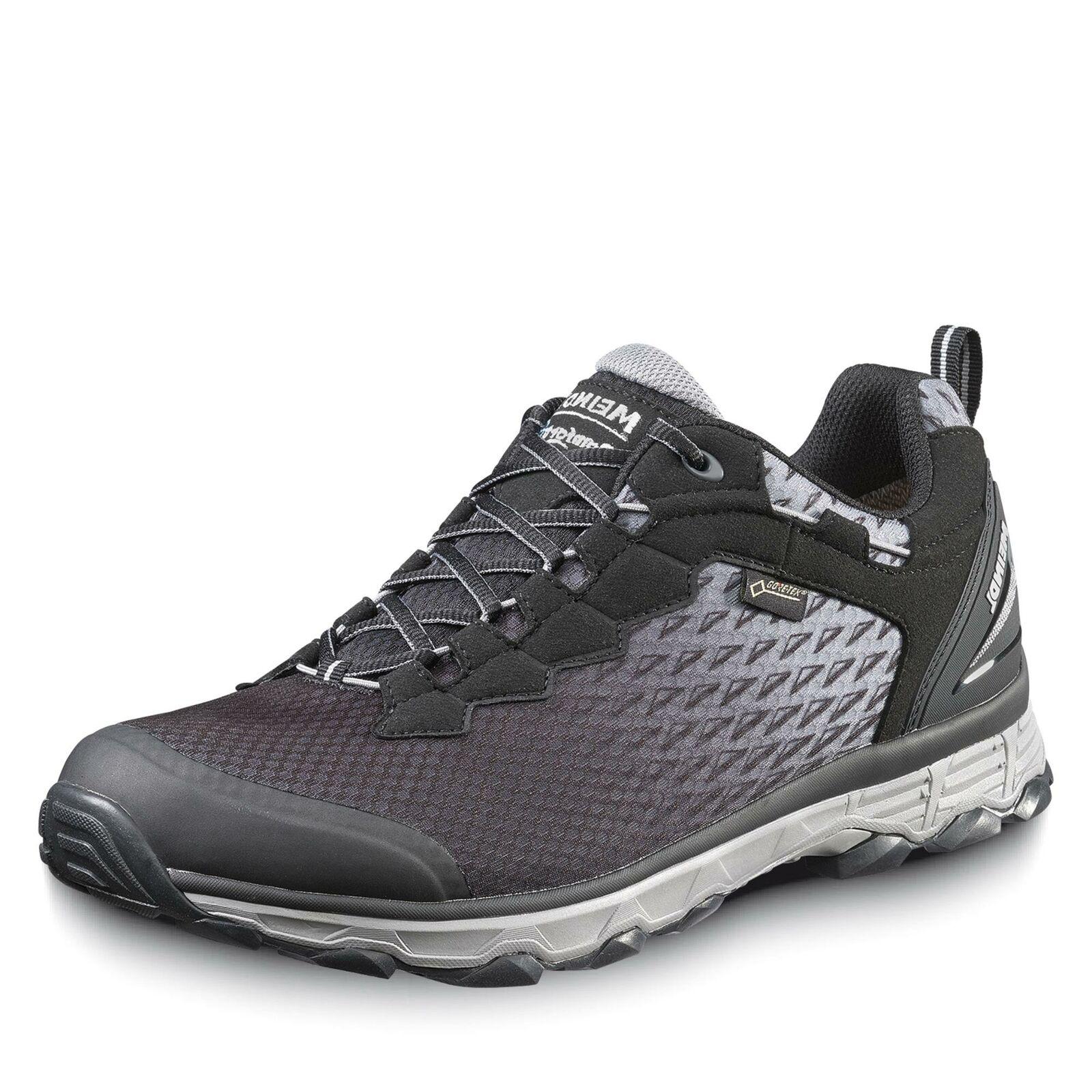 Meindl Herren Activo Sport Comfort Fit GORE-TEX® Outdoorschuh Schuhe schwarz
