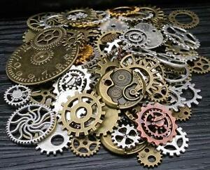 100g-Perlen-Uhr-Anhaenger-Steampunk-Sets-mit-Zahnraeder-fr-Basteln-Schmuck-Zubehoer