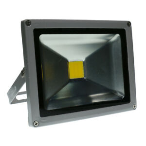 20W-Yellow-LED-Garden-Light-Security-Flood-Lamp-Driveway-Floodlight-IP65