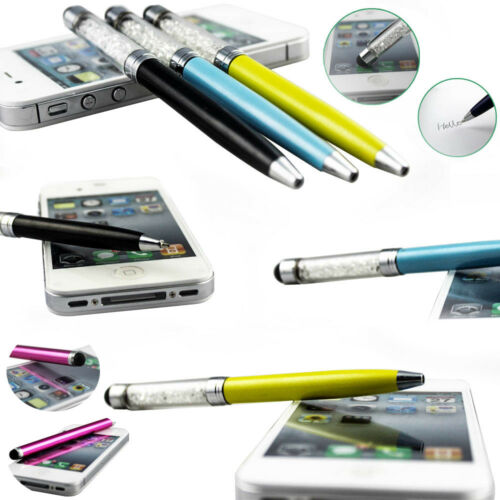 Ballpoint Pen For iPad iPhone Tablet Smartphone 2-in-1 Touch Screen Stylus