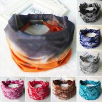 Women Wide Sports Yoga Headband Stretch Hairband Hair Band Turban Headwear 1-8#