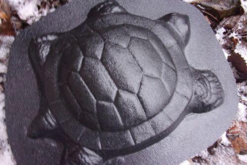 """Turtle plaque mold plaster concrete resin casting mould 10.5/"""" x 9/"""" x 1/"""""""