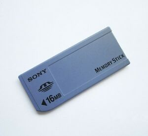 Genuine Sony 16mb Memory Stick Ms Card Non Pro For Sony