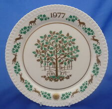 L'ottavo SPODE Christmas Plate - 1977 (Holly e Ivy)