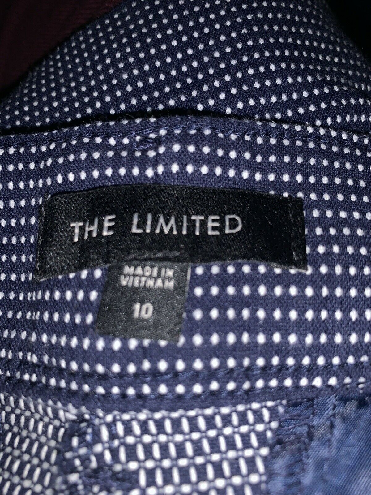 The Limited Women's Tailored Shorts Size 10 Blue … - image 3