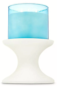 New-WHITE-PEDESTAL-3-Wick-Candleholder-Bath-amp-Body-Works-SHIPS-FREE