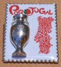 Pin + Nationalmannschaft Team Portugal + Fußball EURO 2012 Polen / Ukraine + 3D