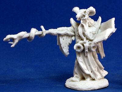 1 x LEISYNN MAGE - BONES REAPER figurine miniature jdr mercenaire wizard 77174