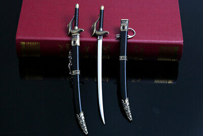 1//6 Scale Soldiers Model Accessories Alloy Cold Weapon The Legends Of Swords