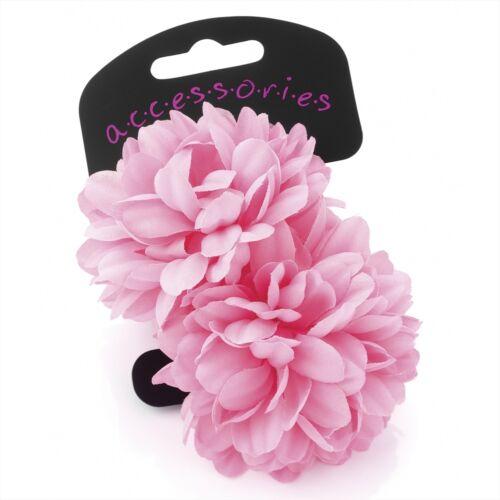 2pc Fiore per capelli Band Elastici Ponios Bobbles Infinite Intoppo Gratis Capelli di bambino bambino