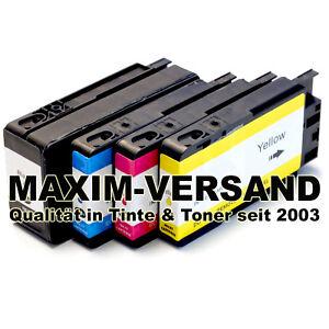 4 Druckerpatronen für HP 953 XL OfficeJet Pro 8200 8210 8218 8710 8715 8718 8719