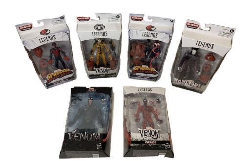 Série complète de 6 nouveau 2020 Marvel Legends Venom Film Wave venompool BAF Lot
