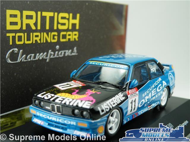 BMW M3 (E30) MODEL CAR 1 43 SCALE 1991 IXO ATLAS WILL HOY BTCC TOURING 4672102 K