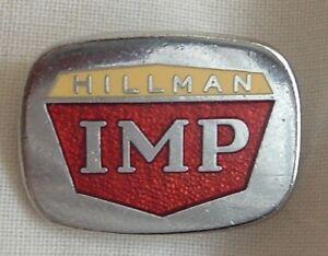 HILLMAN-IMP-ENAMEL-LAPEL-PIN-BADGE