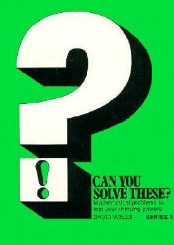 Can You Solve These? by David Wells