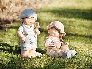 "Gartendeko Figuren, deko-figur ""luise & leo"" liebevolle gartendeko-figuren aus polystein, Design ideen"