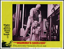 THE MUMMY'S SHROUD - ANDRE MORELL / HAMMER FILMS -  ORIGINAL USA LOBBY CARD SET