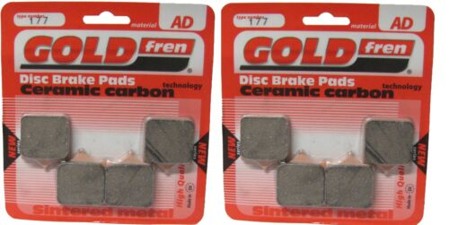 Brake Disc Pads Front Goldfren For Benelli TNT 1130 Sport Evo 2009