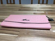 BNWT GUESS Clutch Bag Handbag medium Baby Pink. Silver Guess logo. Sold out 705a8cbb1a8