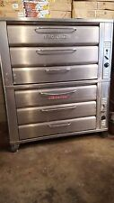 USED 981 BLODGETT THREE DECK GAS PIZZA OVEN INCLUDES FREE SHIPPING