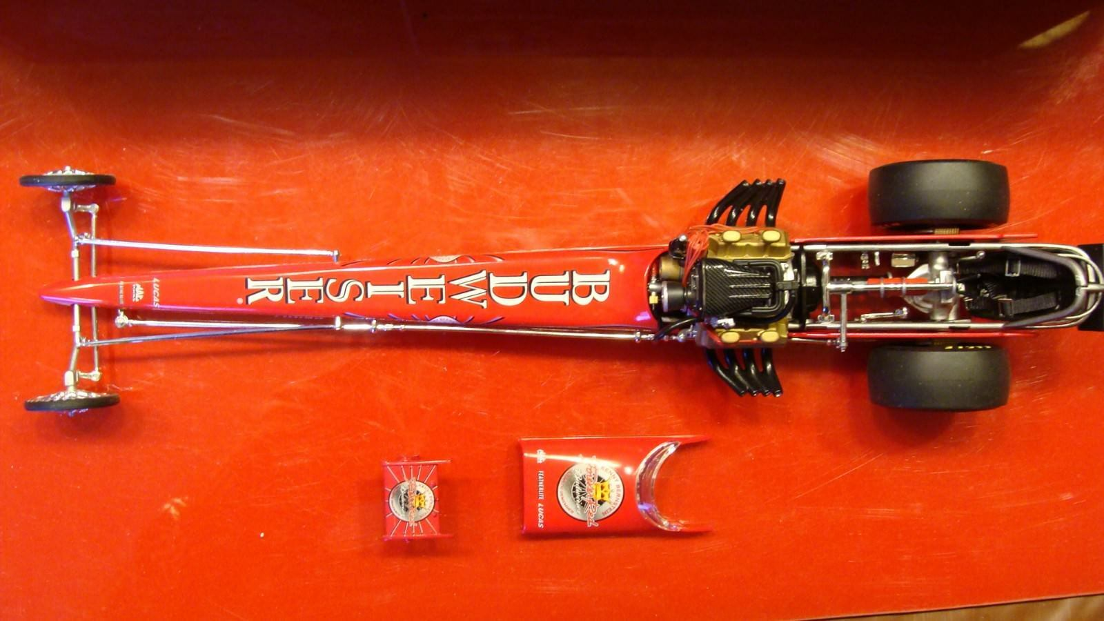 REDUCED $$$  KENNY BERNSTEIN FOREVER RED TOUR 1320 DRAGSTER
