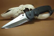 Couteau Crkt Crawford Kasper Acier 8Cr14MoV Serr Manche Zytel CR6783SZ