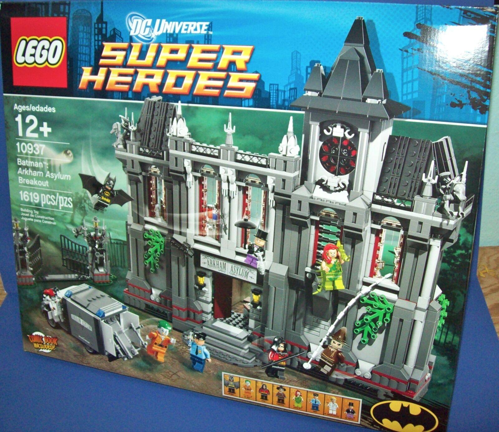 Lego 10937 Batman Arkham Asylum Breakout Dc Universe Super Heroes - Esaurito
