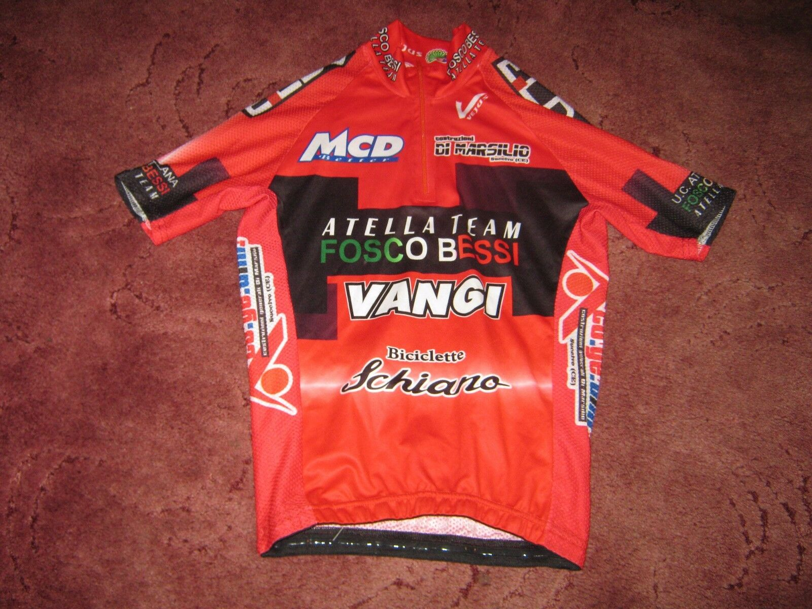 ATTELA TEAM FOSCO BESSIVEJUS ITALIAN CYCLING JERSEY [2]