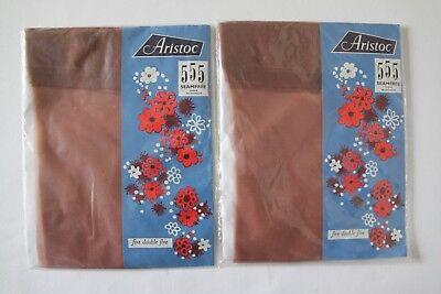 Compiacente Vintage Anni 1960 Collant Aristoc 555 Seamfree Sheer Calze Taglia 9 Sorrento X 2 Paia-mostra Il Titolo Originale Garanzia Al 100%
