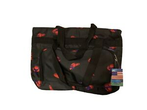 Bovano-Red-Hat-Tote-Bag-w-Tags