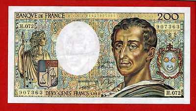 (ref: H.072) 200 Francs Montesquieu 1989 (spl)