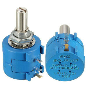 3590S-2-103L-10K-Ohm-BOURNS-Rotary-Wirewound-Praezisions-Potentiometer-BG