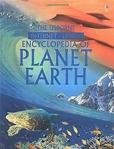 Usborne Internet-Linked Lexikon Von Planet Erde Hardcover Anna