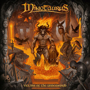 MINOTAURUS-Victims-Of-The-Underworld-CD-2019-free-sticker-Ancient-Folk-Metal