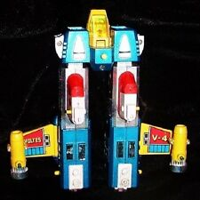 VOLTES V ORIG GODAIKIN FRIGATE DIECAST #4LEGS GOOD COND SHOGUN ROBOT TRANSFORMER