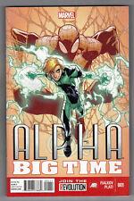 ALPHA: BIG TIME #1 - HUMBERTO RAMOS COVER - JOSHUA HALE FIALKOV STORY - 2013