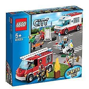 LEGO città 60023 FUOCO  SOCCORSO Fire estrellater Set & MINI cifraS NUOVO CON SCATOLA NUOVO SIGILLATO  buona reputazione