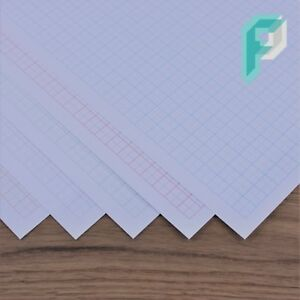 a3 graph paper 5mm 0 5cm squared engineering choice of colour 5 to