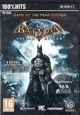 PC Spiel Batman: Arkham Asylum - Game of the Year Edition DVD Versand NEUWARE