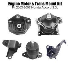 03-07 Honda Accord 3.0L Engine Motor /&Trans Mount 5PCS for Auto Trans M284 Fits