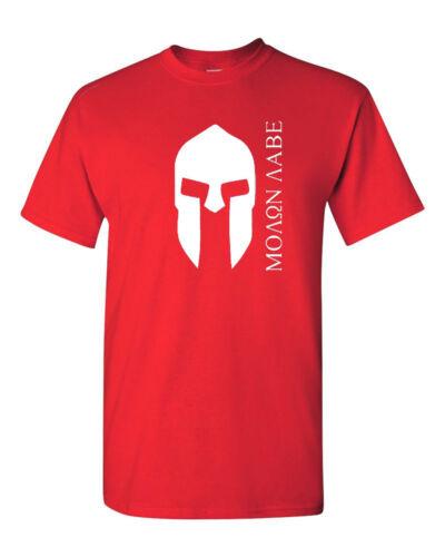 Greek Molon labe T-Shirt Shirt  SIZES S-5XL
