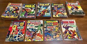 79-Marvel-Silver-Age-Comics-Lot-Fantastic-Four-Daredevil-Strange-Tales-Thor-Hulk