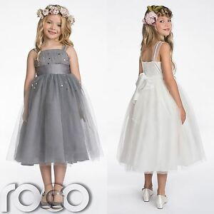 Image Is Loading Bridesmaid Dresses S Grey Dress Ivory