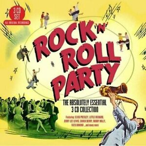 Rock-039-n-039-Roll-Party-The-Absolutely-Essential-3-CD-Collection