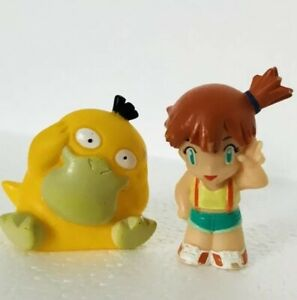 1998-Psyduck-amp-Misty-Pokemon-Nintendo-Bandai-2-Toy-Figures-Bundle-f