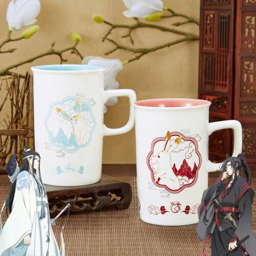 Grandmaster of Demonic Cultivation Wei Wuxian Lan Wangji Water Ceramic Mug Cup
