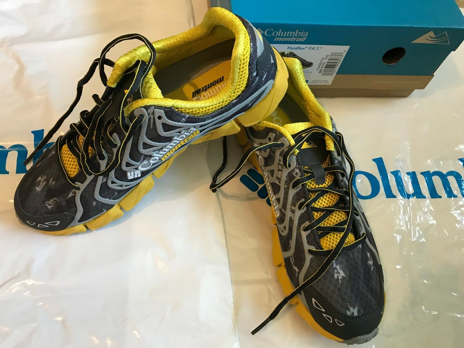NEW Mens Columbia Montrail Fluidflex FKT Lightweight Trail Running shoes